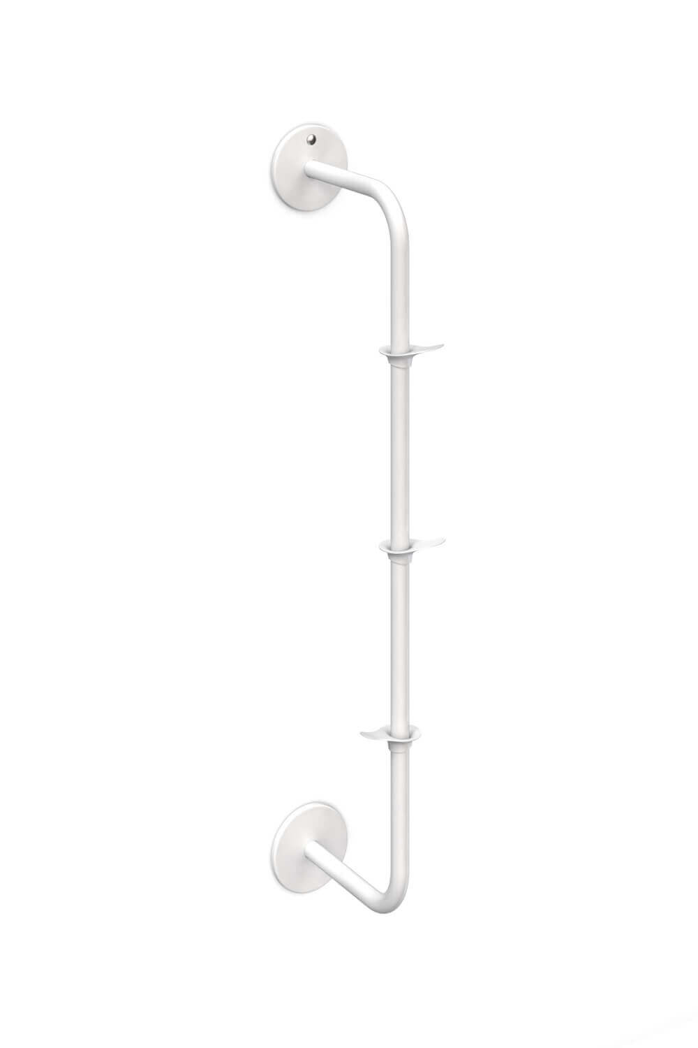RiZZ fixed coat rack the wall vertical white Teun Fleskens