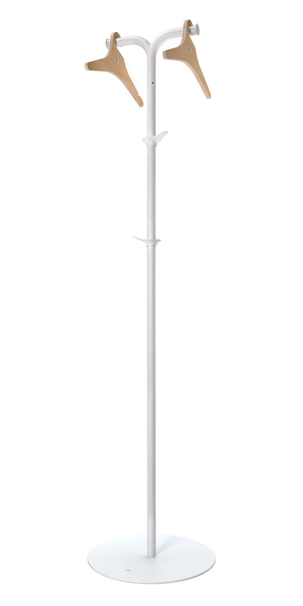 RiZZ Free standing coat stand palm white Teun Fleskens