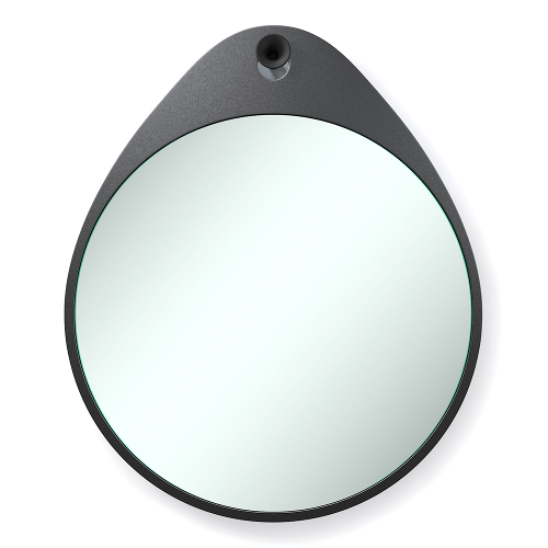 RiZZ mirror the egg anthracite Teun Fleskens